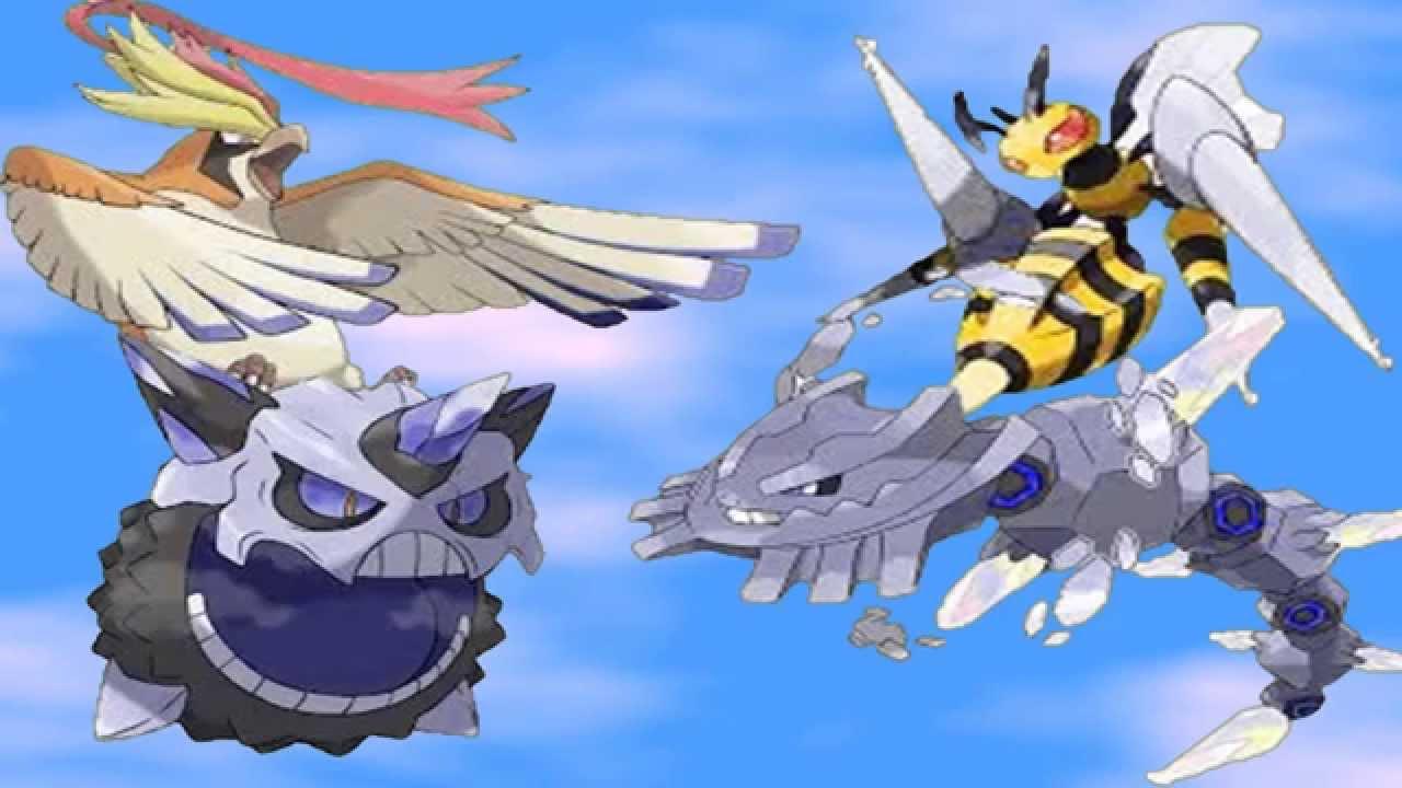 Mega Pidgeot Mega Beedrill Mega Steelix Mega Glalie And