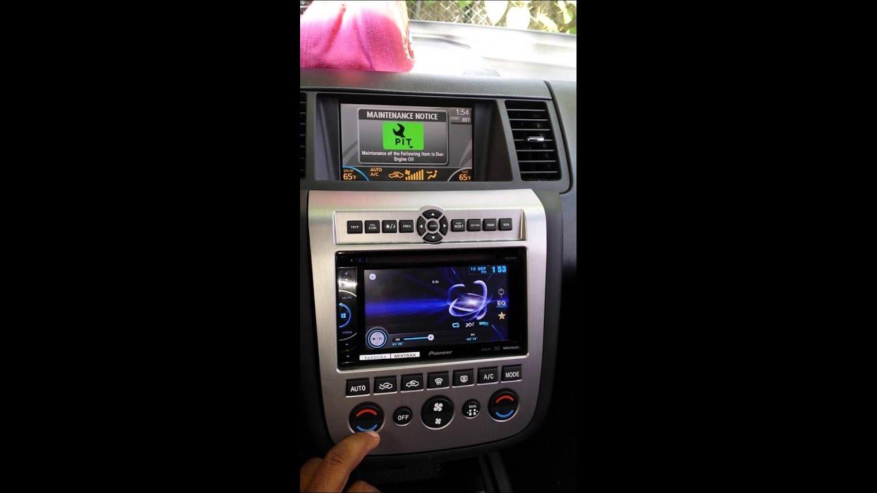 Nissan Murano Dash Kit Youtube