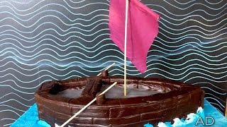 Birthday party boat cake recipe.