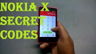 Nokia X Secret Codes