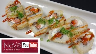 JB Tempura Roll - How To Make Sushi Series