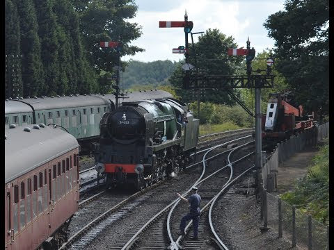 Severn Valley Railway Yellow Timetable Friday 1st September 2017