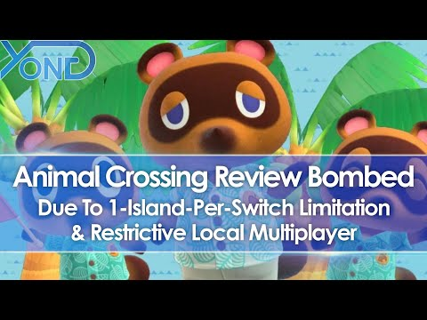 Animal Crossing New Horizons Review Bombed Due To Save File Limitation & Local Co-Op Restrictions