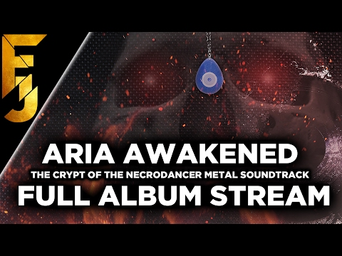 Aria Awakened Full Album Stream - The Crypt of the Necrodancer Metal Soundtrack | FamilyJules