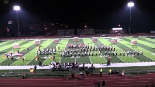 2015 Jonesboro High School Marching Band Mountain Home Football Game Halftime Performance