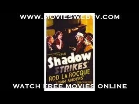 1938 INTERNATIONAL CRIME ROD LA ROCQUE AS THE SHADOW - FULL MOVIE