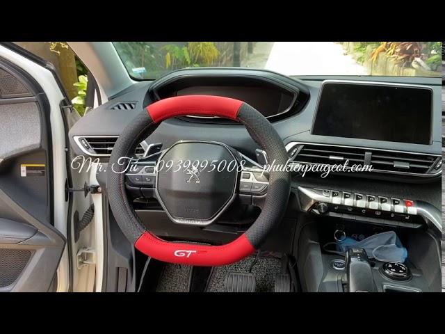Bọc vô lăng GT xe Peugeot 5008 Peugeot 3008 all new