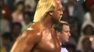 Video Funny Match Hulk Hogan vs The Genius download MP3, 3GP, MP4, WEBM, AVI, FLV November 2018