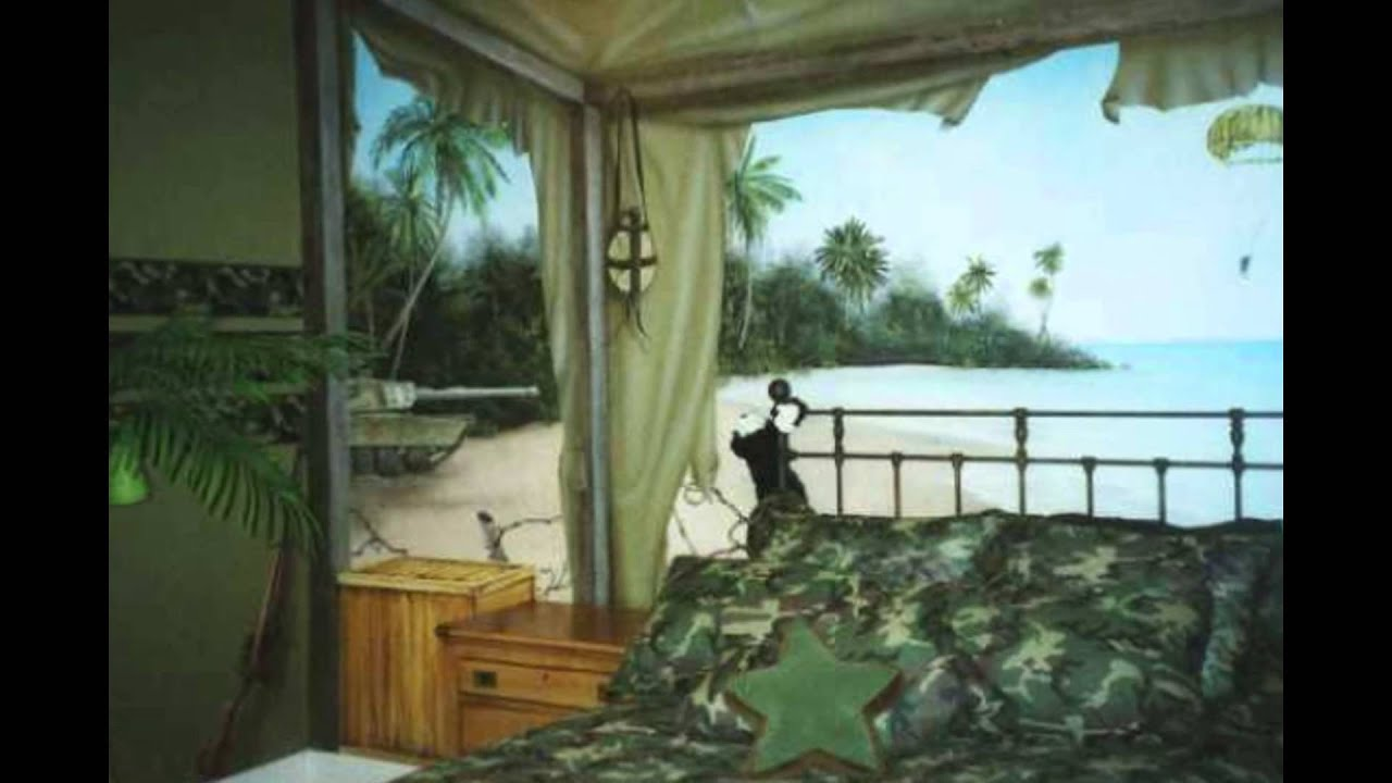 Great Army Bedroom Camo