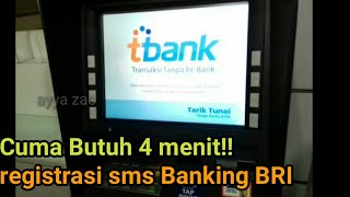 Video cara registrasi sms banking BRI| cuma 4 menit download MP3, 3GP, MP4, WEBM, AVI, FLV November 2018