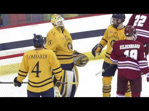 HIGHLIGHTS: Quinnipiac men's ice hockey vs. UMass 12/7/18