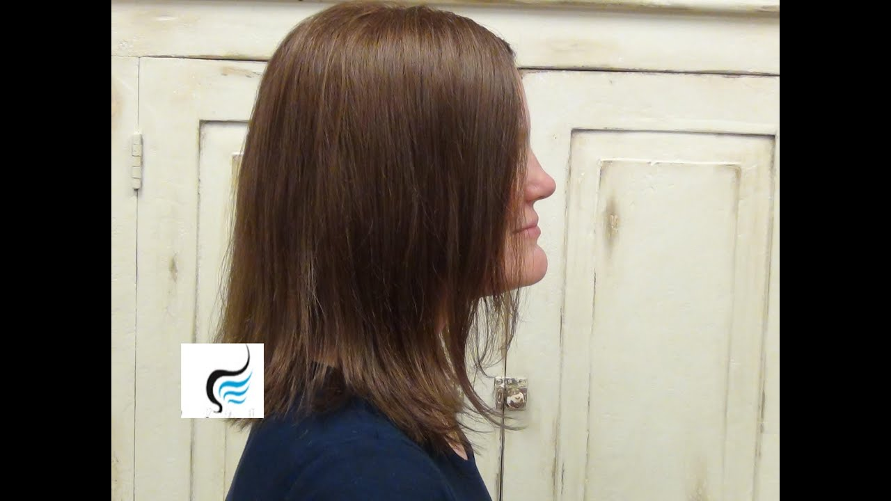 How To Style Chunky Bob Cut Hairstyles Tutorial Youtube
