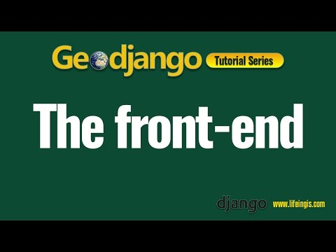 Geodjango Tutorial 5 : The Frontend (Urls, Views, Templates)