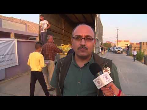 Assyrians Displaced Yet Again - Humanitarian Aid Alqosh