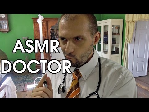Routine Not Much Talking Doctor (ASMR Role Play)