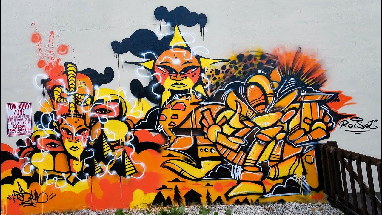 Serum x Roc Sol Sun Splash Spray Mural