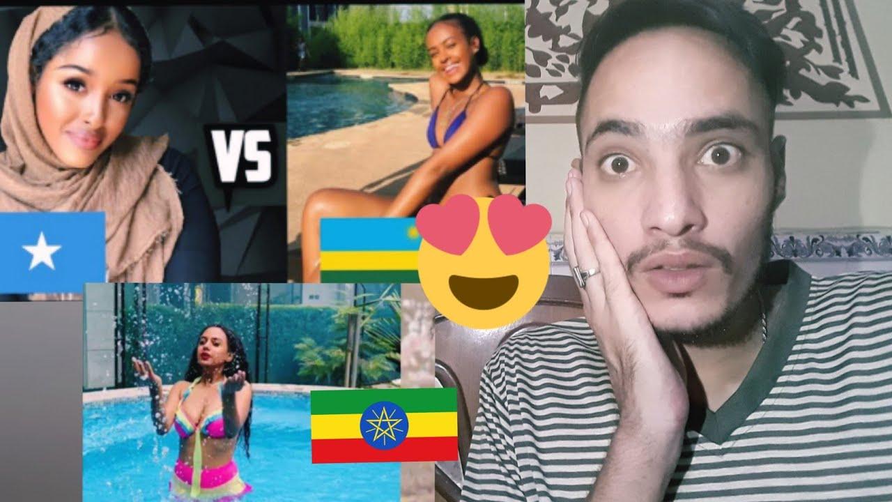Somali Girls vs Ethiopian Girls   Competition of beauty