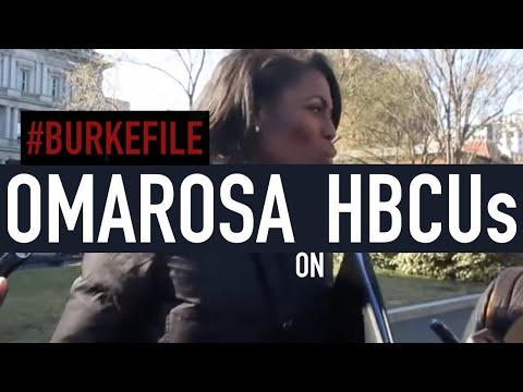 03.22.17: Omarosa Manigault Talks CBC Meeting, HBCUs #Burkefile12