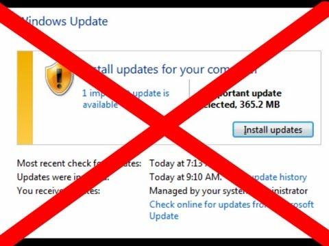 stopping windows update in progress