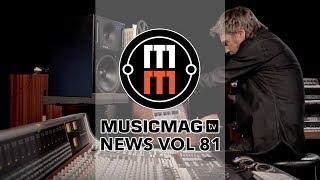 Musicmag TV News #81: Синтезатор-флешка, юбилей Эдуарда Арьтемьева и др.