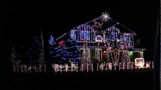 Dubstep Christmas lights full intro