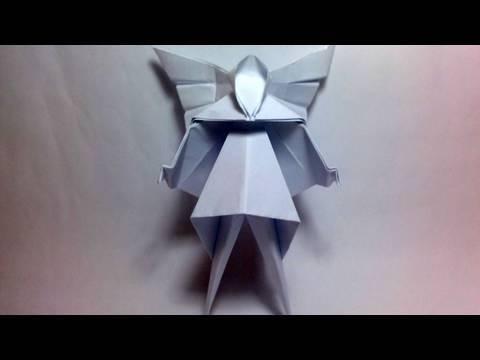 Origami Christmas Tree Fairy David Brill