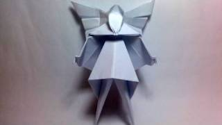 Origami Christmas Tree Fairy (david Brill)