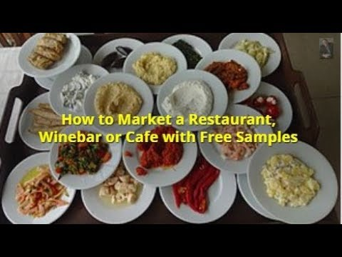 How to Market a Restaurant with Free Samples