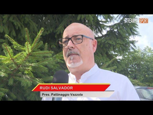 INTERVISTA A RUDI SALVADOR  -  Presidente Pattinaggio Vazzola