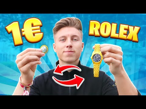 1€ gegen ROLEX Tauschen! (Gamescom Challenge)