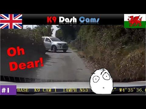 UK Dash Cam #1 | Meeting Traffic | Braving Welsh Roads