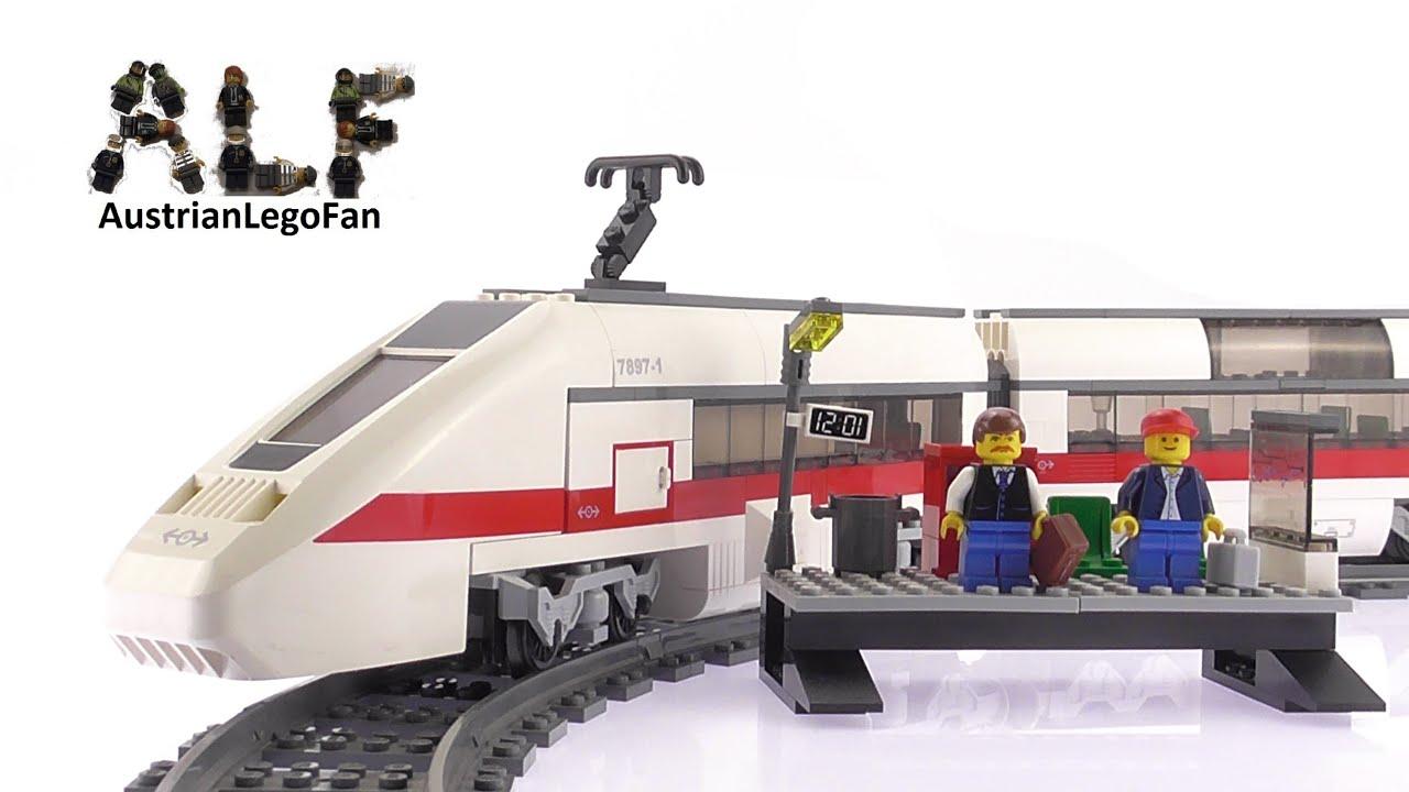 lego city 7897 passenger train lego speed build review
