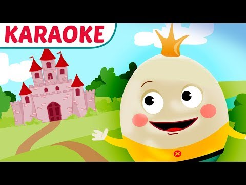 Humpty Dumpty Karaoke with Lyrics (Song for Kids)