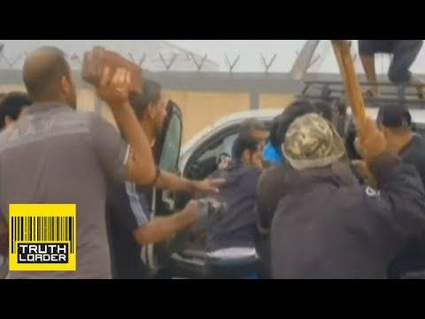 G4S worker beaten in Basra, Iraq - Truthloader