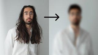 I CUT IT ALL (massive hair transformation)
