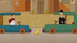 """""""Машинки"""", новый мультсериал для мальчиков - Правостороннее движение (серия 34) Развивающий мультик"""