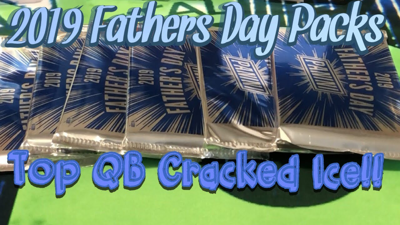 Download 2019 Panini Fathers Day Packs. Plus Huge Mailday. Top Rookie QB Auto & Cracked Ice!!