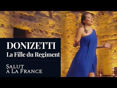 """DONIZETTI : La Fille du Régiment """"Salut A La France"""" (Fuchs) [HD]"""