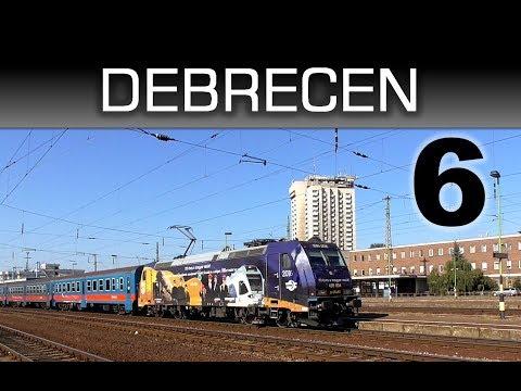 Vonatok Debrecen állomáson 6 / Trains in Debrecen station 6