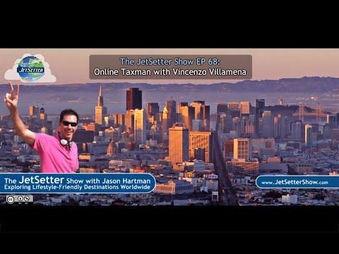 The JetSetter Show EP 68 Vincenzo Villamena: Online Taxman