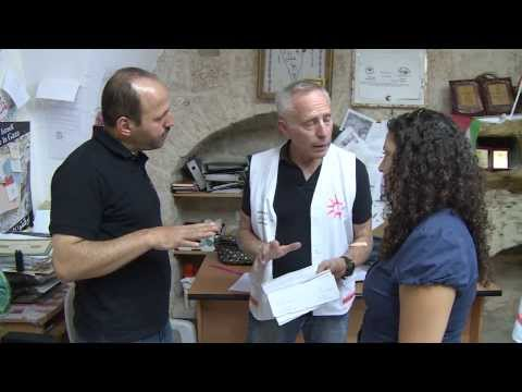 'Physicians For Human Rights - Israel' Mobile Clinic In The West Bank | 24INews Report | August 2013