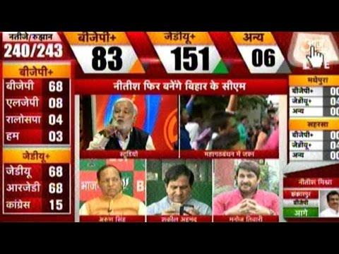Bihar Elections 2015: JD(U), RJD Set To Win Bihar Battle #BiharResults