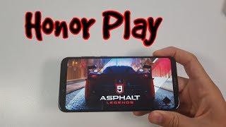 Honor Play Asphalt 9&Bully&NBA 2K18 Gameplay/Kirin 970 Gaming test Mali G72