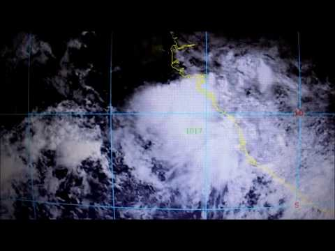 tropical wave off the  African coast july 7 2017 #1