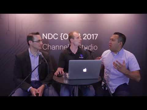NDC Oslo 2017 Channel 9 Live interview with Udi Dahan and Daniel Marbach