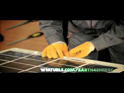 Create your own solar panel with our home solar energy kits – Earth 4 Energy
