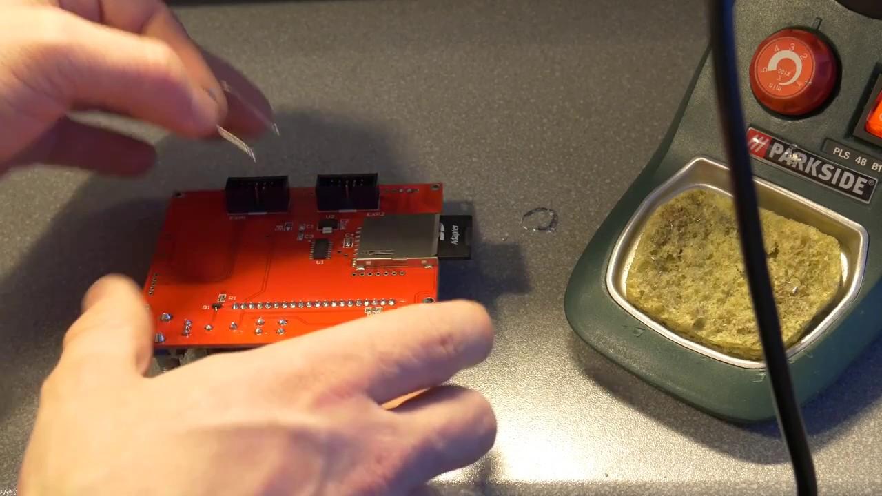 Reprap FULL Graphic SMART RAMPS 1.4 controller LCD 12864 cp10002