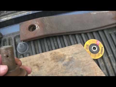Sharpening The Brush Hog Blades