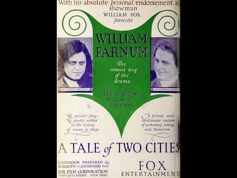 Tale of Two Cities (1917) William Farnum and Jewel Carmen