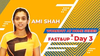 NO GYM Workout At Home - Ladder Workout | No Equipment| Fast&Up